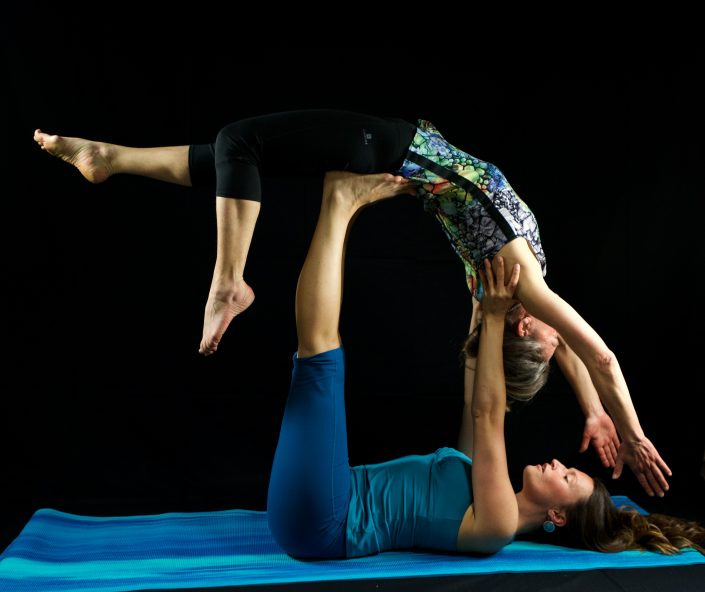 Cours de yoga privé à courchevel avec Manalaya