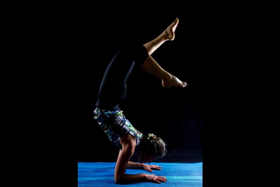 Cours de yoga à la Tania