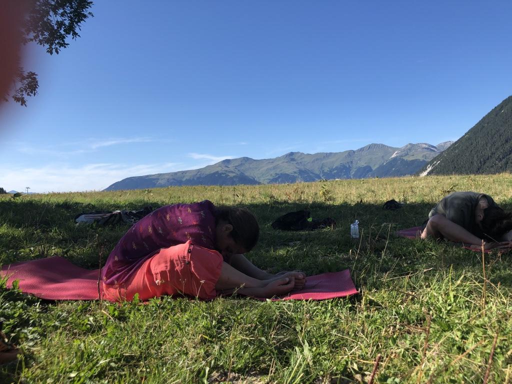 yoga été Bozel