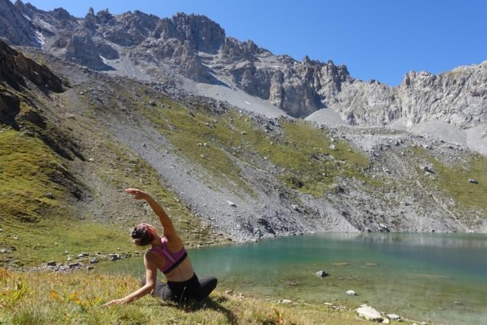 Lac montagne yoga